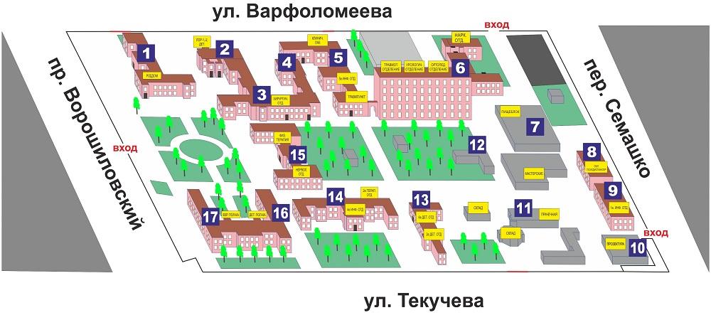Cхема общая гб-1